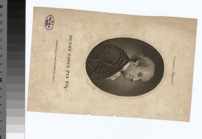 Portrait of H. J. Pye