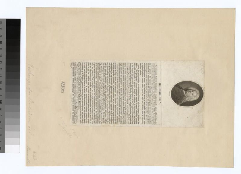 Portrait of S. Richardson (WAHP32500)