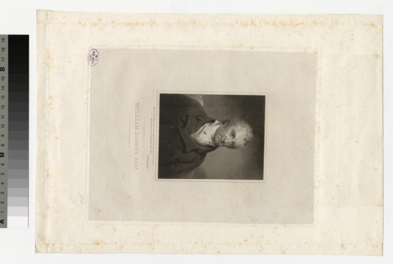 Portrait of William Roscoe (WAHP32530)