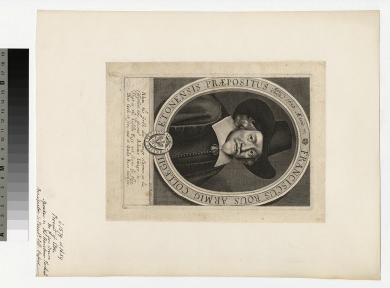 Portrait of F. Rous
