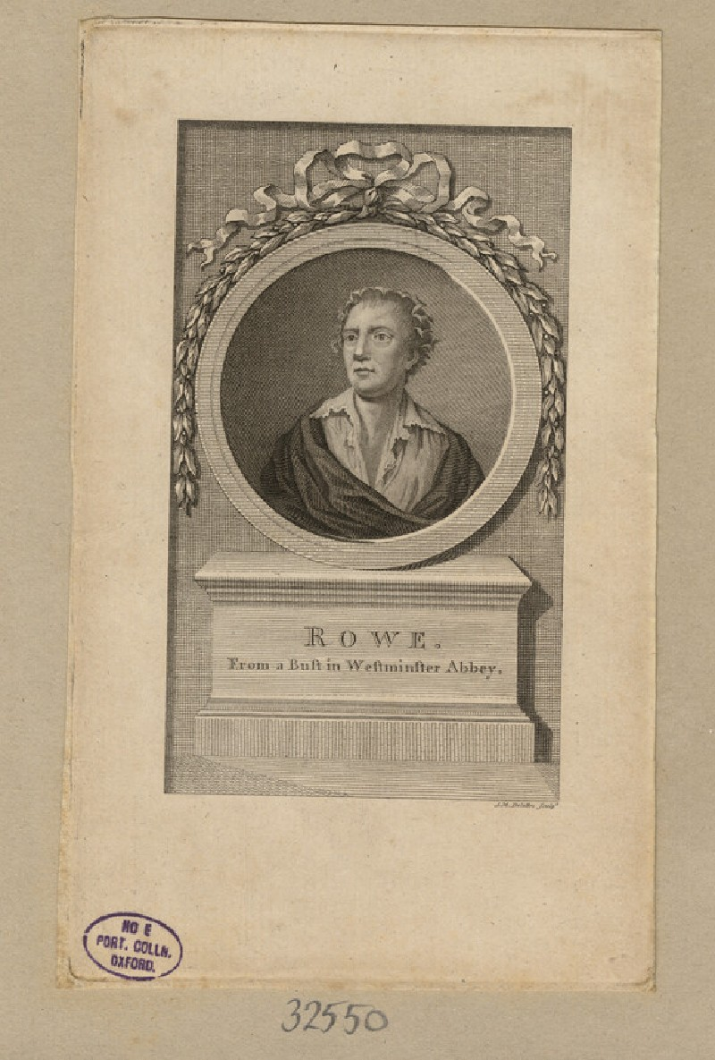 Portrait of N. Rowe (WAHP32550)