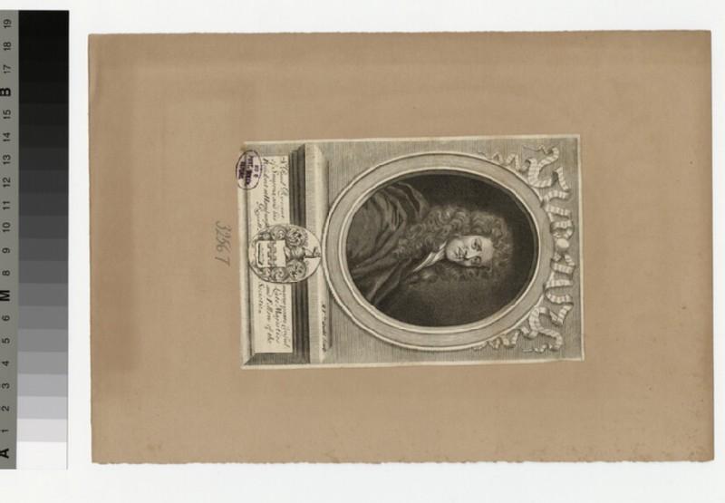 Portrait of P. Rycaut