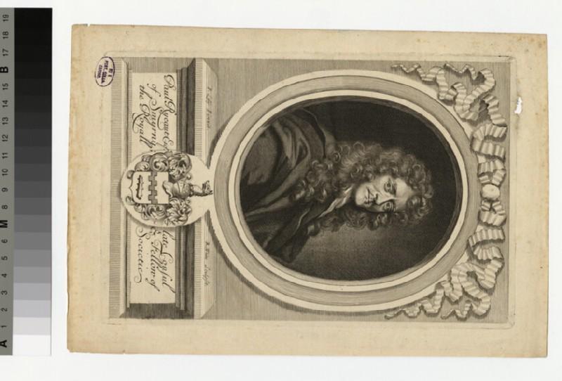 Portrait of P. Rycaut (WAHP32570.1)