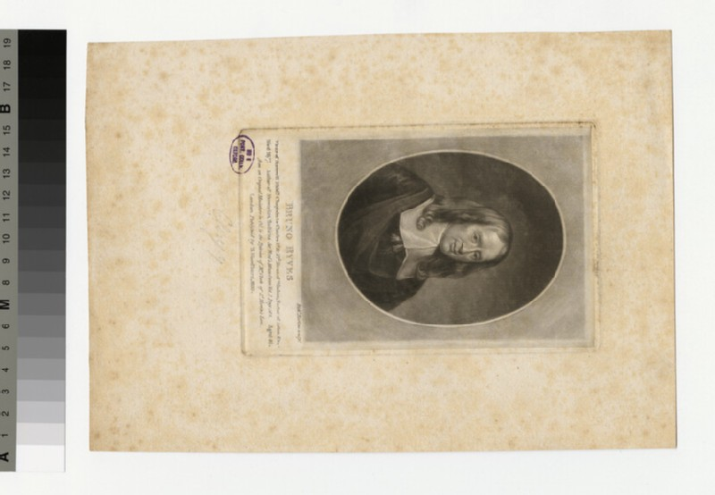 Portrait of B. Ryves (WAHP32571)