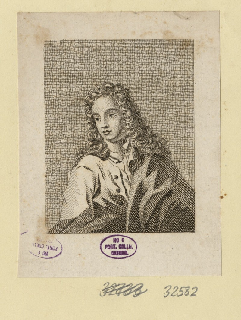Portrait of an unknown author (WAHP32582)