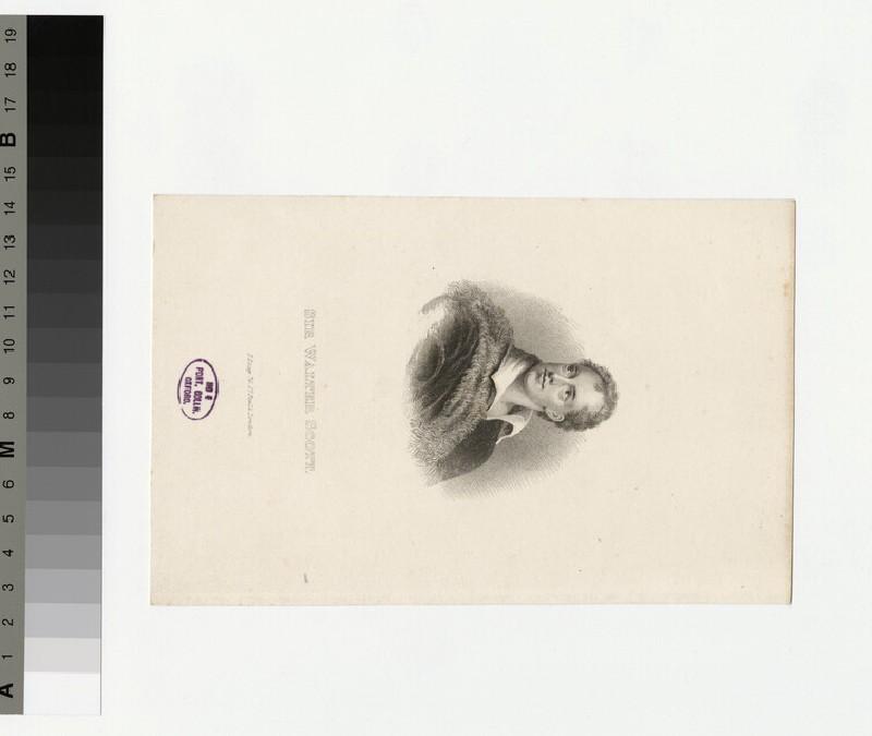 Portrait of W. Scott