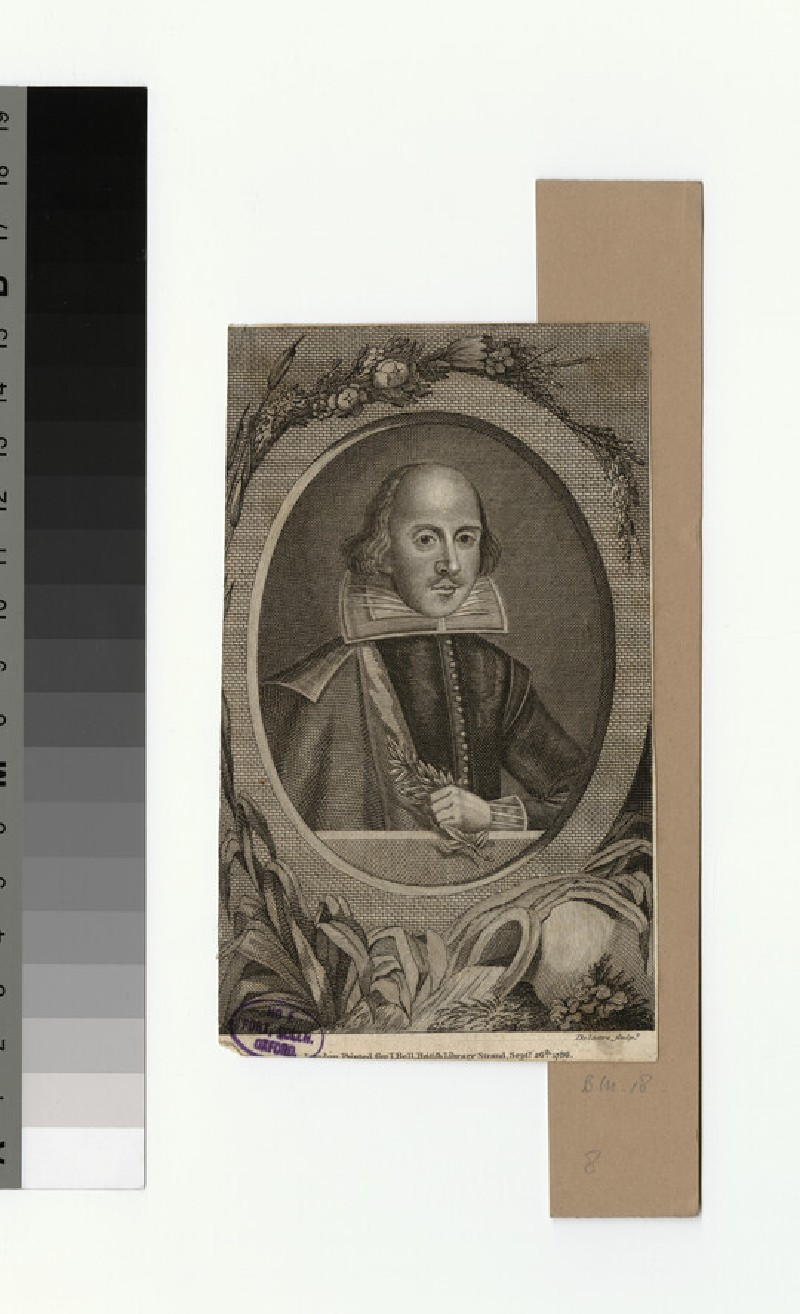 Portrait of Shakespeare (WAHP32634)