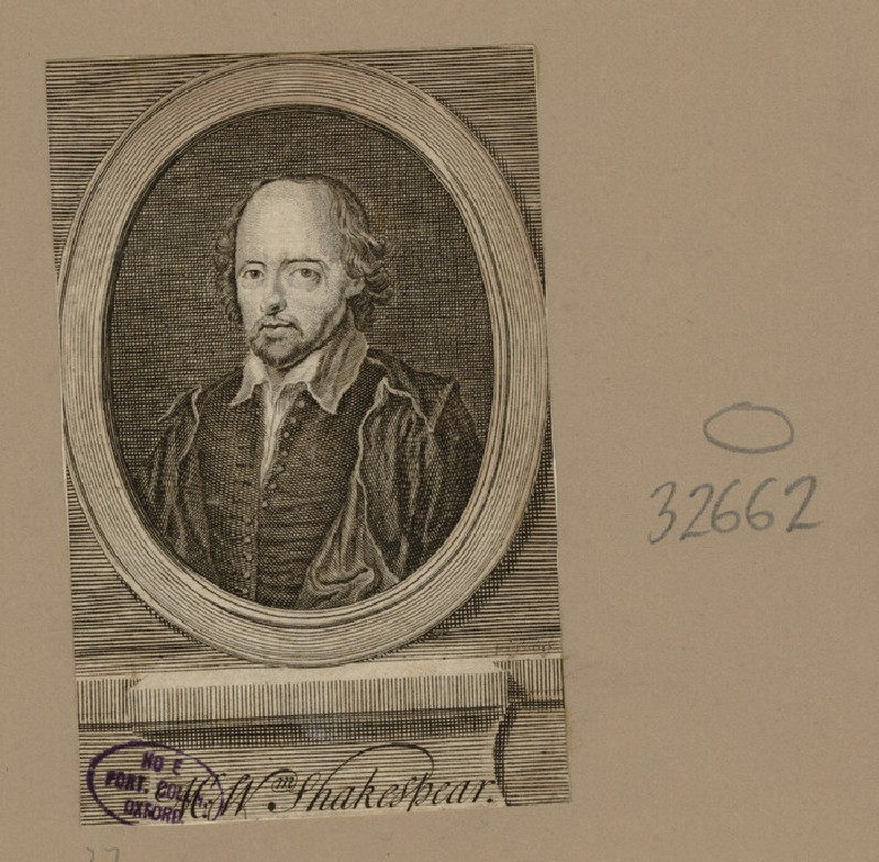 Portrait of Shakespeare (WAHP32662)
