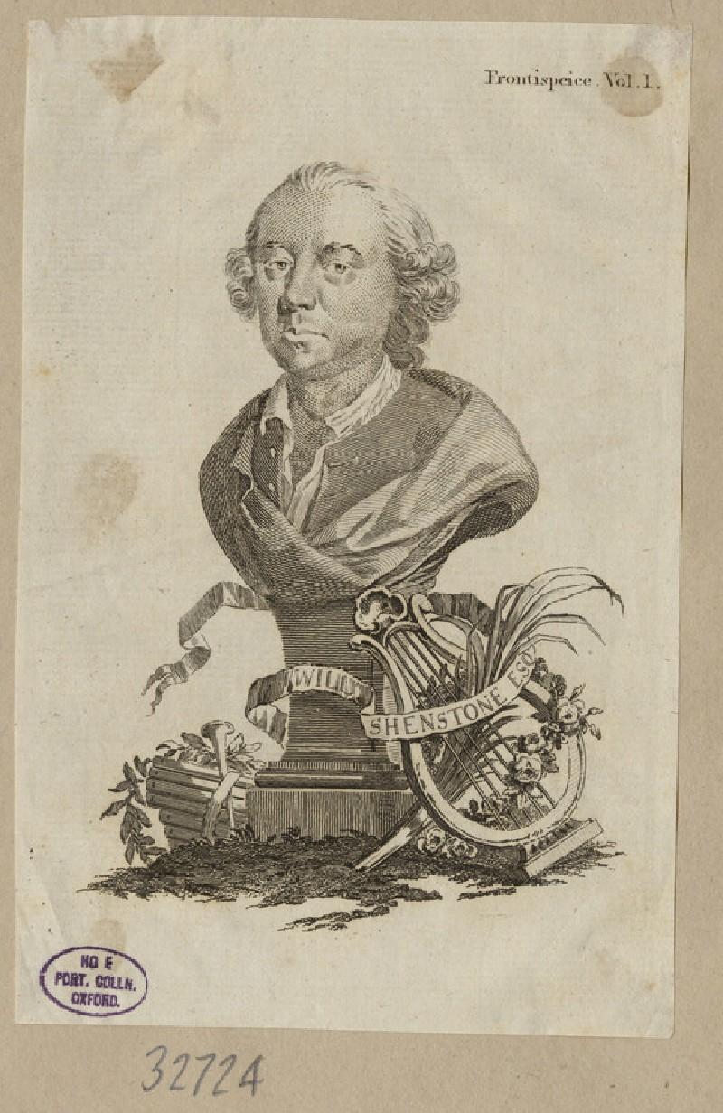 Portrait of W. Shenstone (WAHP32724)