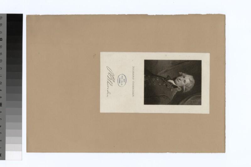 Portrait of R. Sheridan