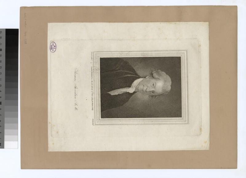 Portrait of T. Sheridan