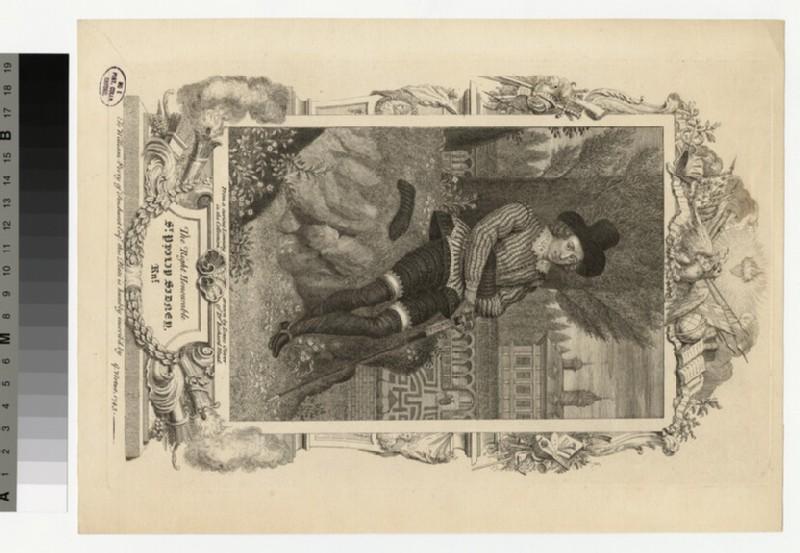 Portrait of P. Sidney (WAHP32768.1)