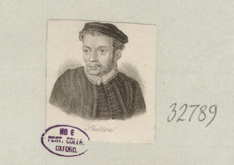 Portrait of J. Skelton