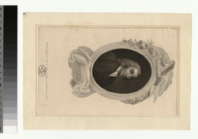 Portrait of T. Smollett (WAHP32816)