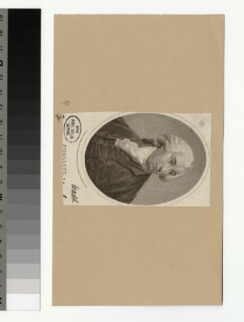 Portrait of T. Smollett (WAHP32828)