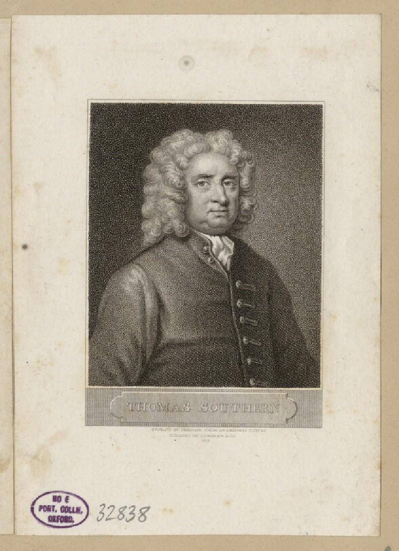 Portrait of T. Southerne