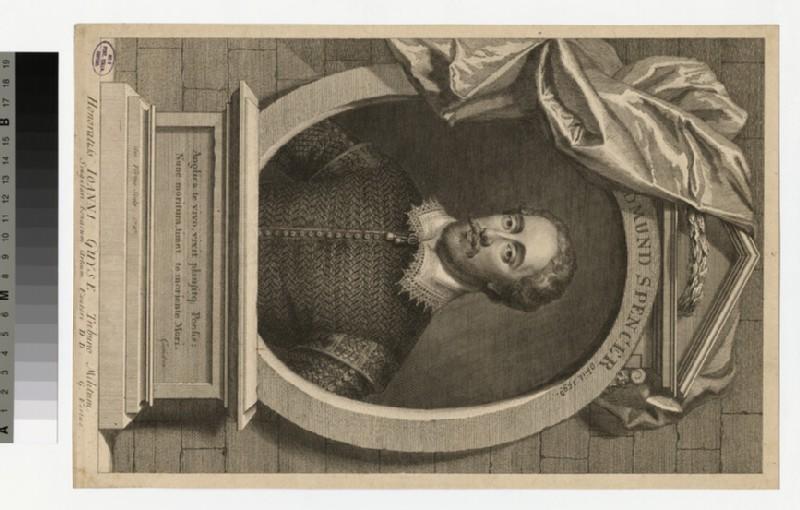 Portrait of E. Spencer