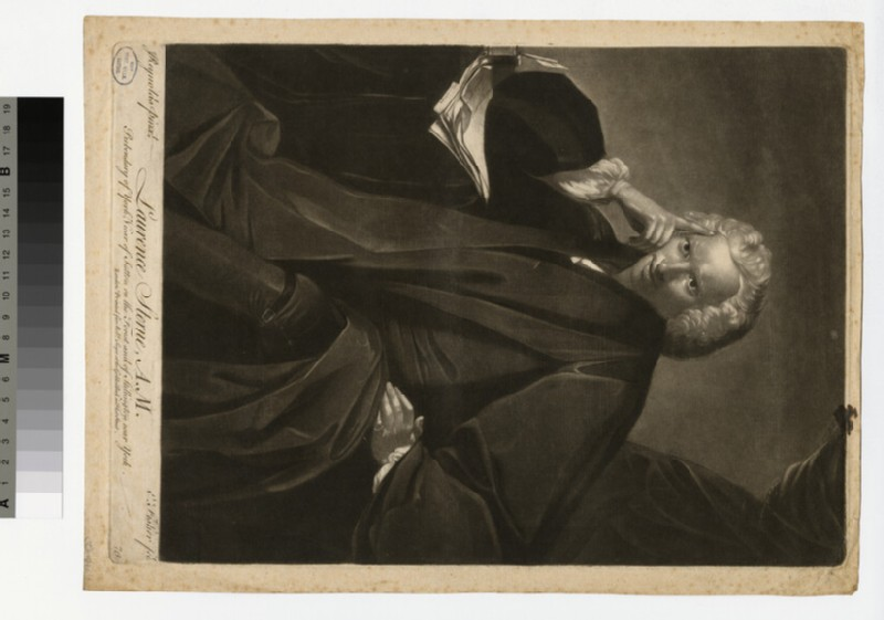 Portrait of Laurence Sterne (WAHP32923)