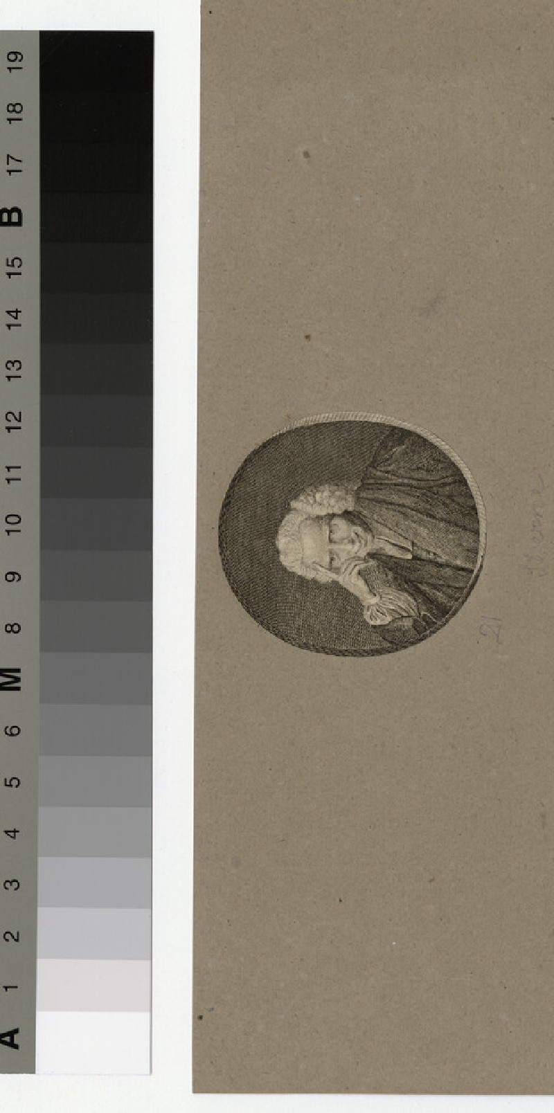 Portrait of Laurence Sterne (WAHP32937)