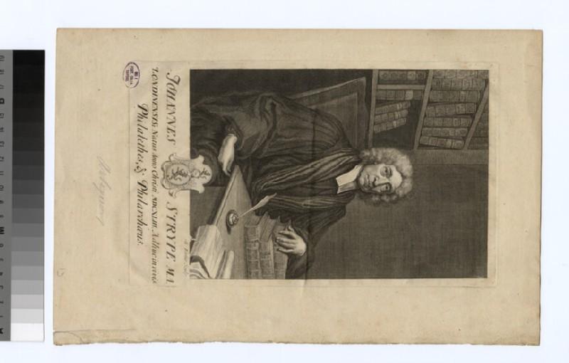 Portrait of J. Strype (WAHP32963)