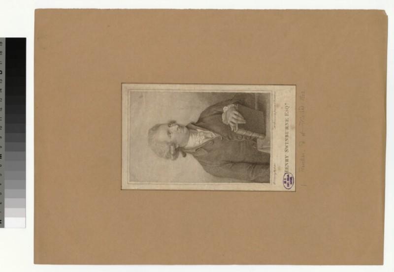 Portrait of H. Swinburne
