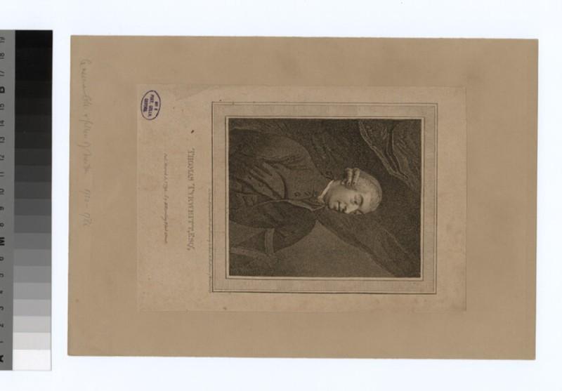 Portrait of T. Tyrwhitt