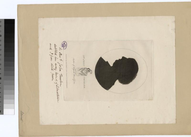 Portrait of J. Trusler