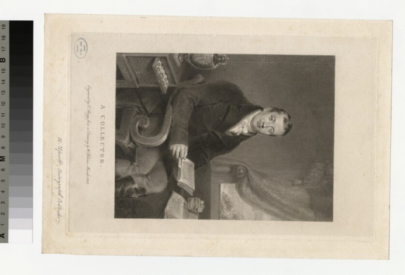 Portrait of W. Upcott (WAHP33148)