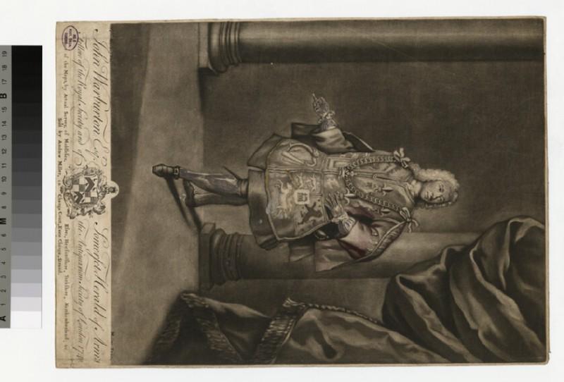 Portrait of John Warburton (WAHP33196.1)