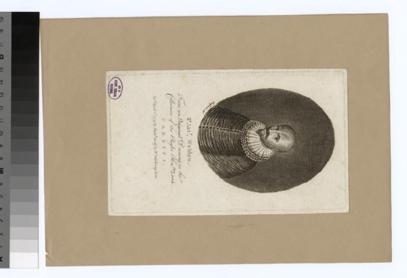 Portrait of A. Welden