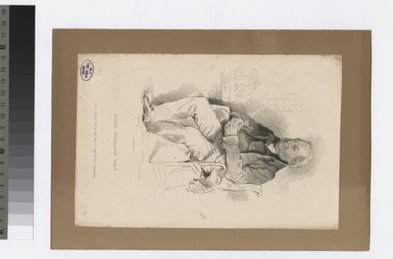 Portrait of R. Wilbraham