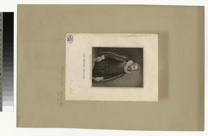 Portrait of H. Wotton (WAHP33323)