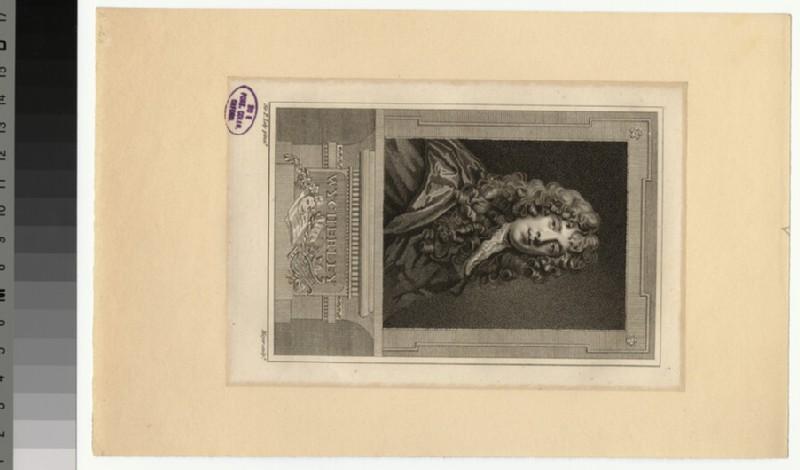 Portrait of W. Wycherley (WAHP33346)