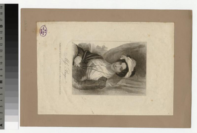 Portrait of Miss Benger