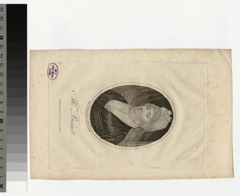 Portrait of Mrs Bennet