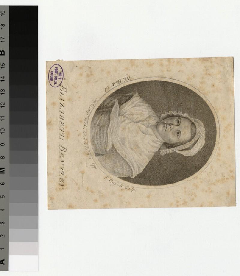 Portrait of Elizabeth Bentley