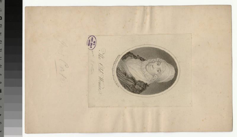 Portrait of Mrs Carter