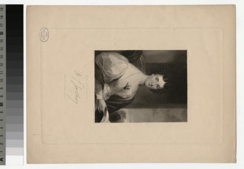 Portrait of Mrs Fletcher