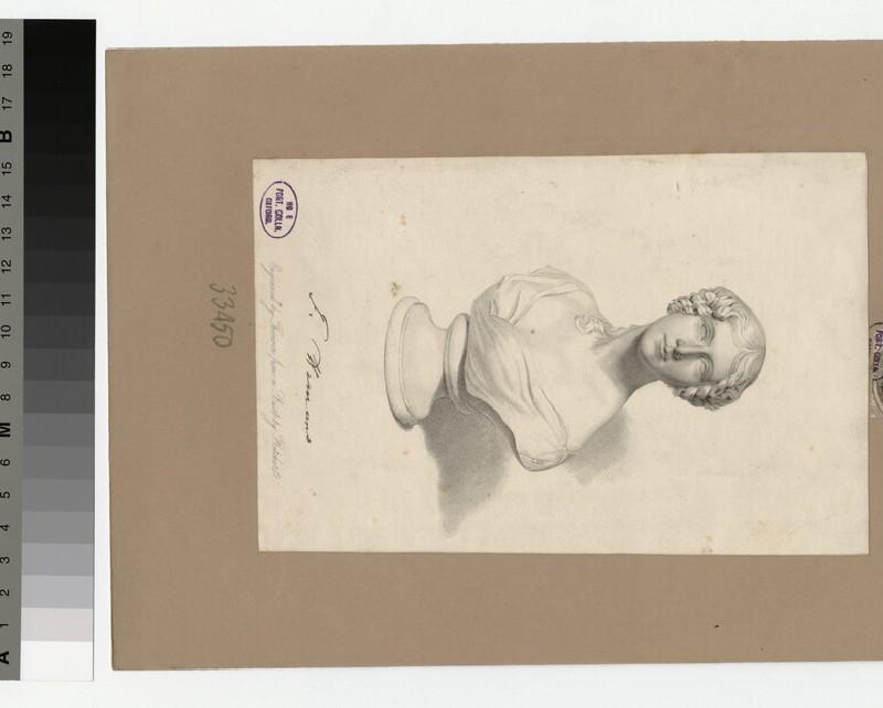 Portrait of Mrs Hemans (WAHP33450)