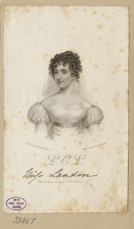 Portrait of L. E. Landon (WAHP33467)