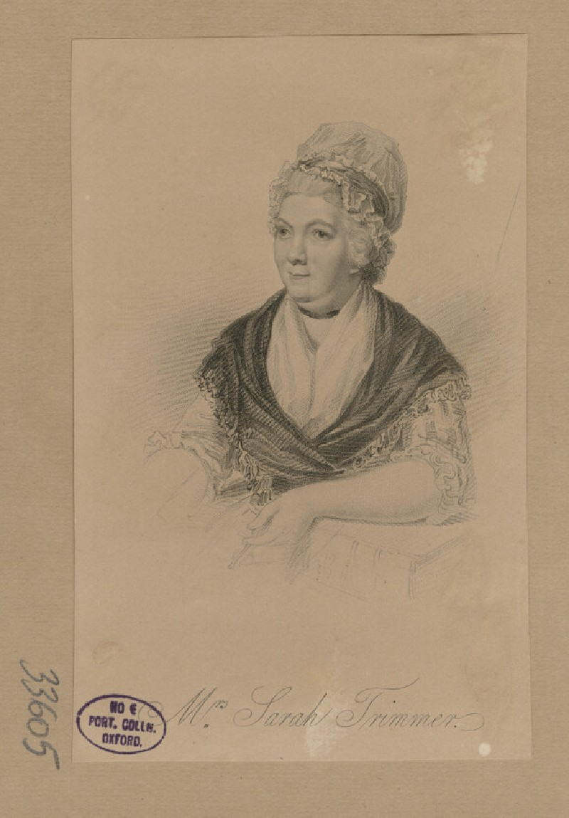 Portrait of Mrs Trimmer (WAHP33605)
