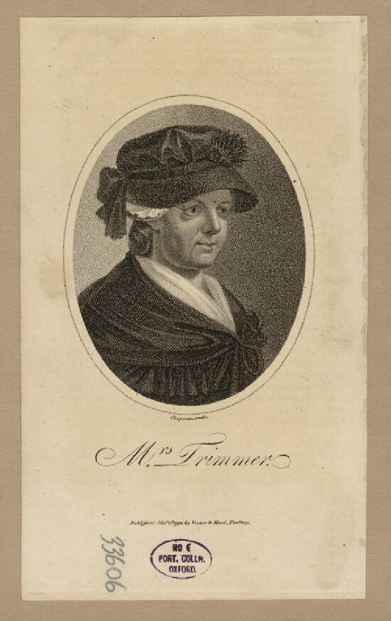 Portrait of Mrs Trimmer