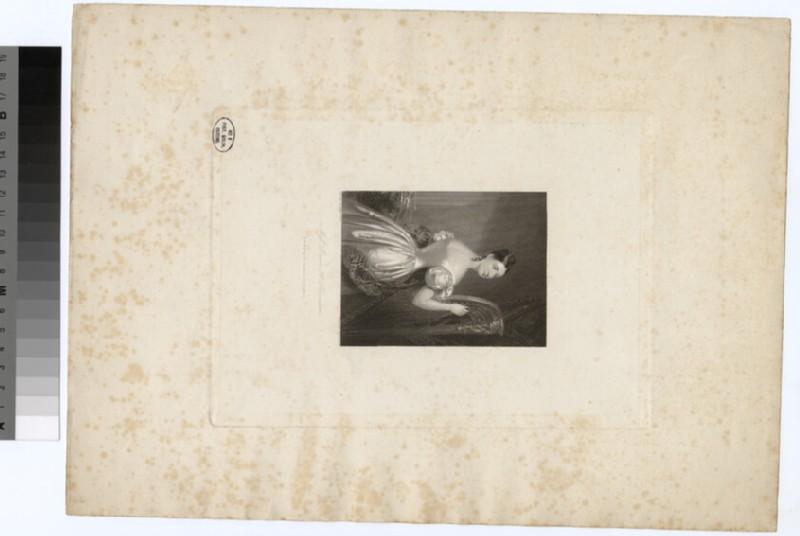 Portrait of Miss L. H. Sheridan
