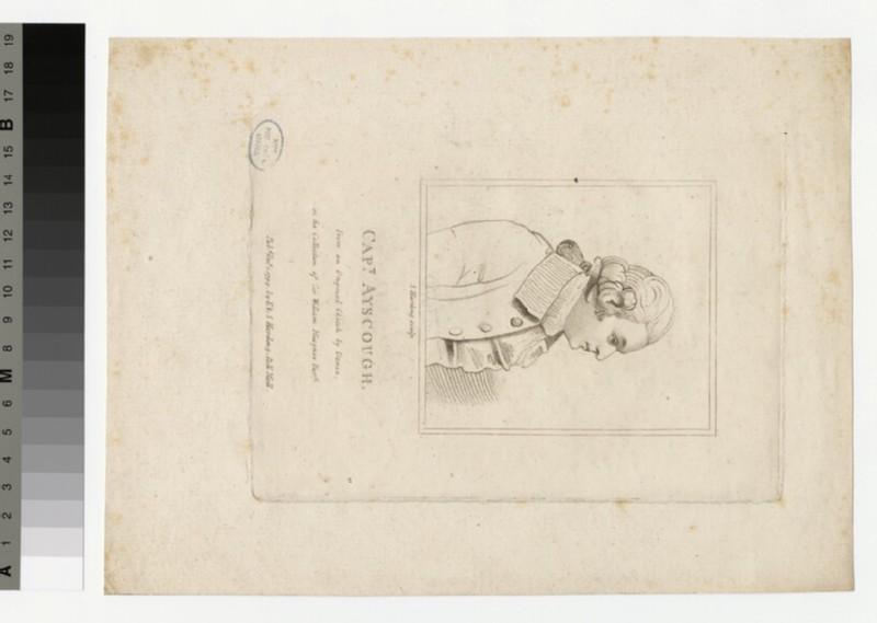 Portrait of Capt Ayscough (WAHP33670)