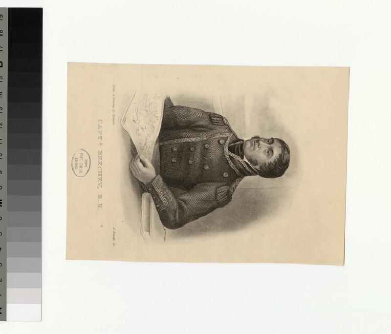 Portrait of Capt Beechey (WAHP33686)