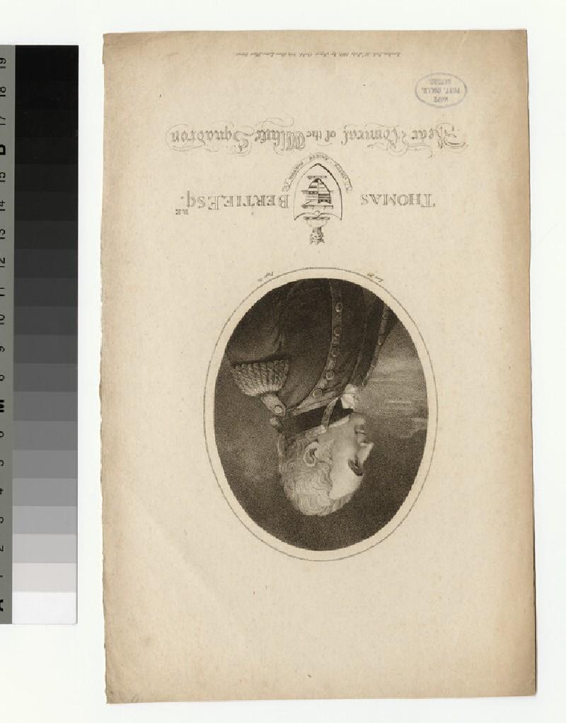 Portrait of T. Bertie