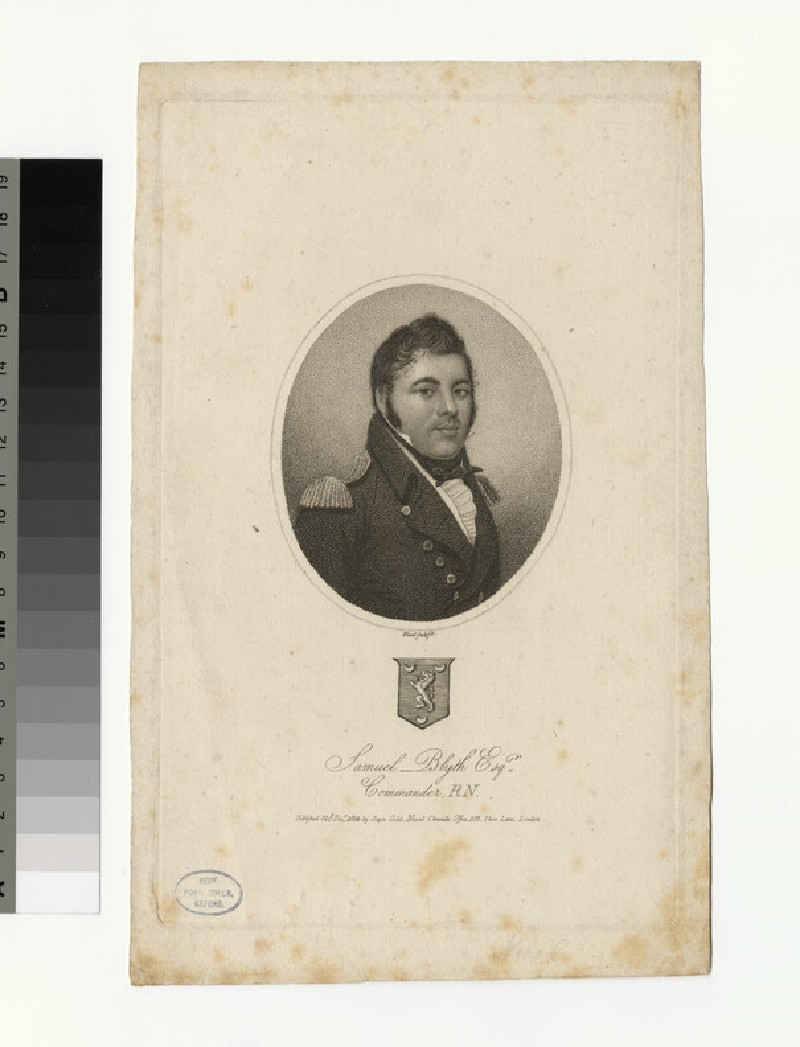 Portrait of S. Blyth (WAHP33715)