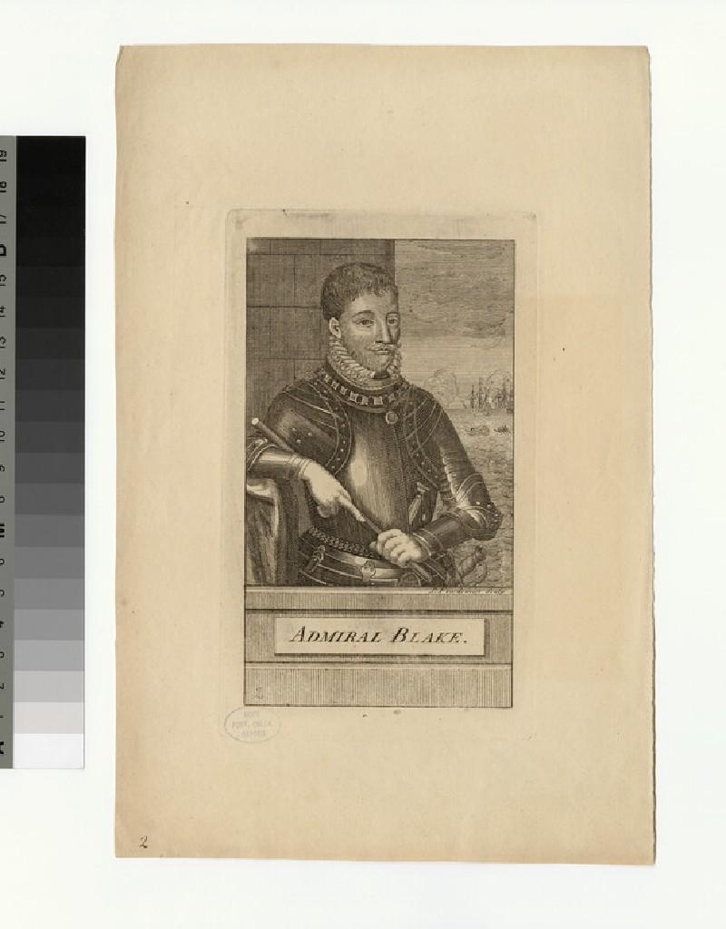 Portrait of Admiral Blake