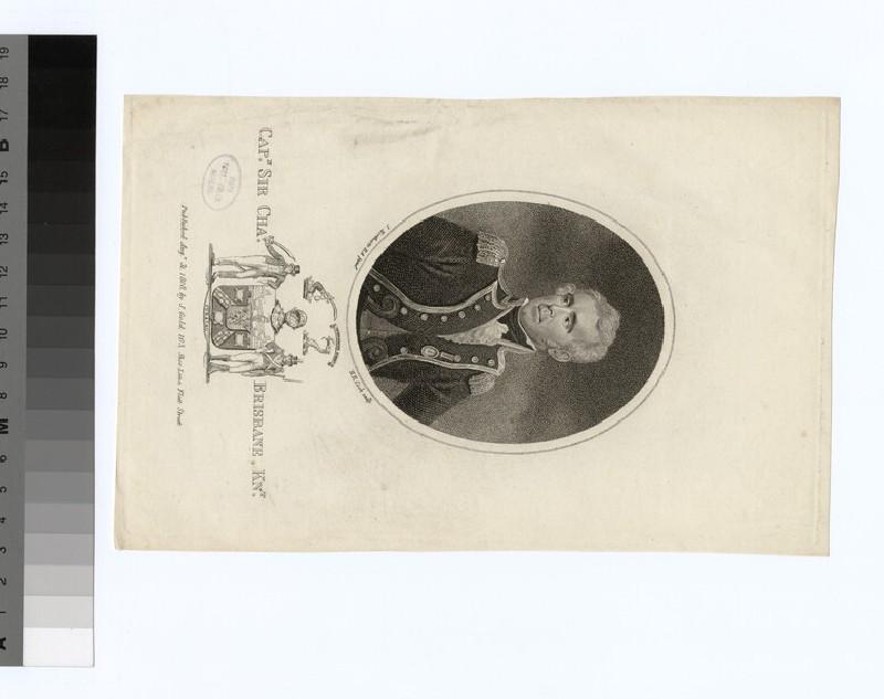 Portrait of Capt.C. Brisbane