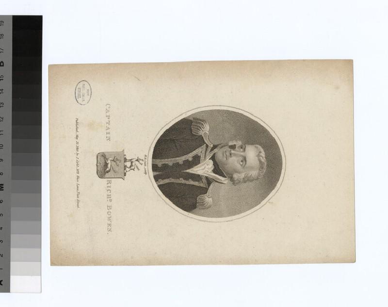 Portrait of Capt.R. Bowen